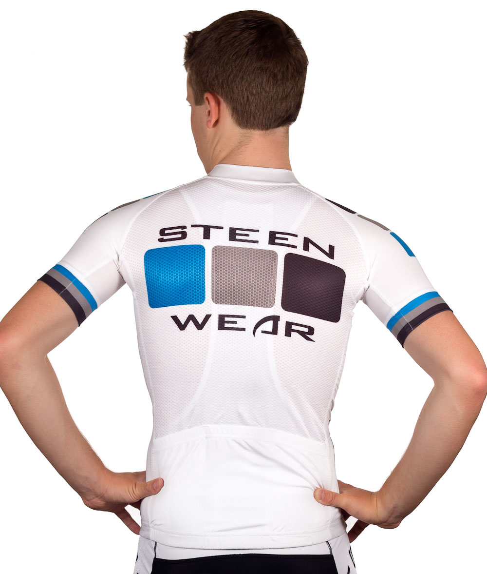 Custom Cycling Clothing - Pro Jersey Back by Steen Wear