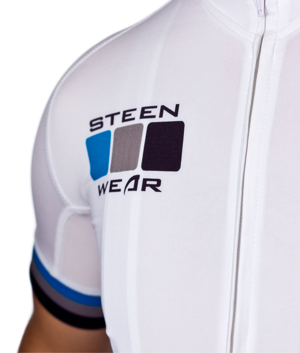 Custom Cycling Clothing - Pro Jersey Detail by Steen Wear