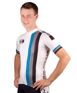 Custom Cycling Clothing - Pro Jersey Front by Steen Wear