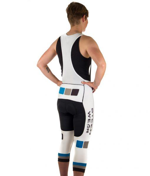 Custom Women's Cycling Clothing - Women's 3/4 Knicker Bib Shorts by Steen Wear