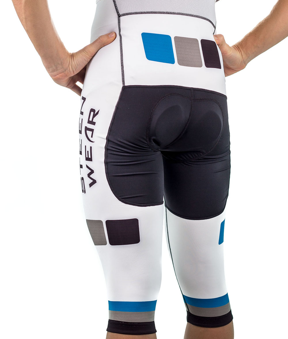 Custom Men's Cycling Clothing - 3/4 Bib Knickers by Steen Wear