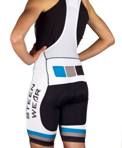 Custom Women's Cycling Clothing - Club Bib Shorts by Steen Wear