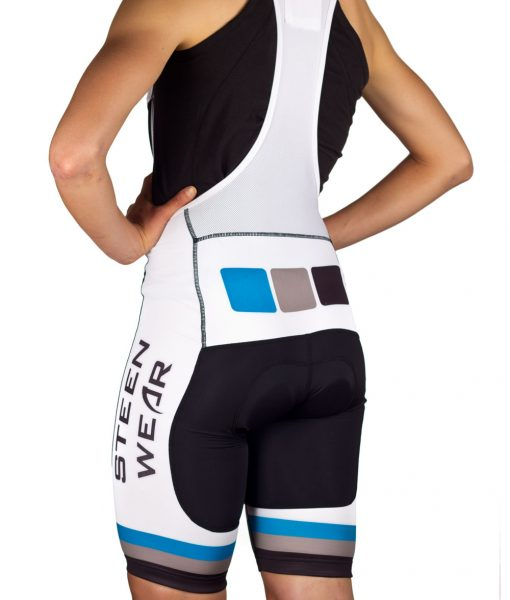 Custom Women's Cycling Clothing - Club Bib Shorts by Steen Wear
