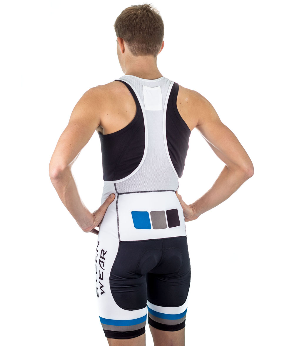 Custom Men's Cycling Clothing - Men's Club Bib Shorts by Steen Wear