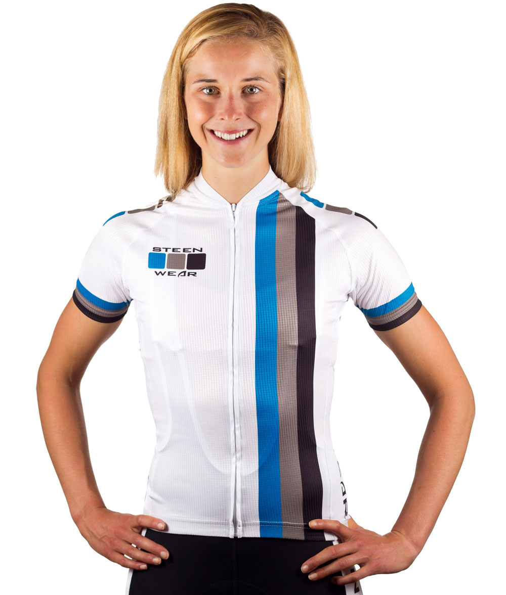 Custom Women's Cycling Clothing - Club Jersey by Steen Wear