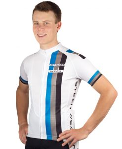Custom Cycling Clothing - Club Jersey Back by Steen Wear