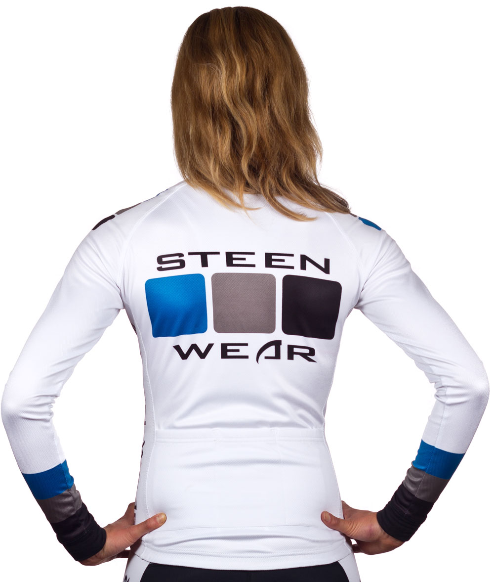 Custom Women's Cycling Clothing - Long Sleeve Jersey by Steen Wear