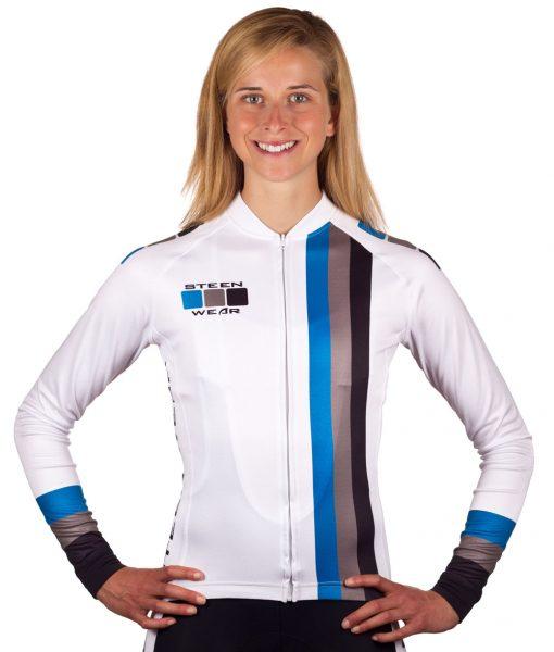 Custom Women's Cycling Clothing - Long Sleeve Jersey by Steen Wear