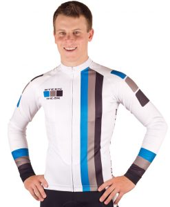 Custom Cycling Clothing - Long Sleeve Jersey by Steen Wear