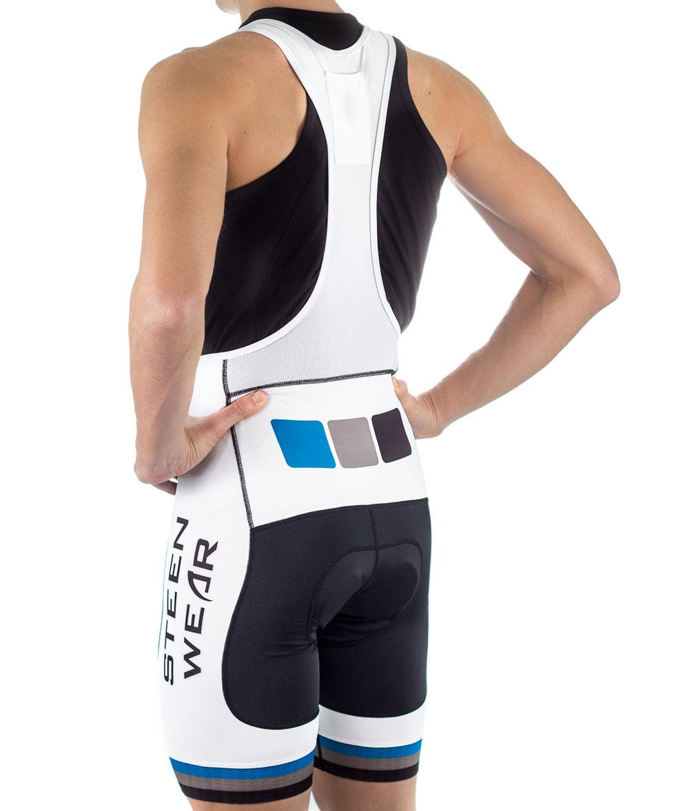 Custom Men's Cycling Clothing - Men's Pro Bib Shorts by Steen Wear
