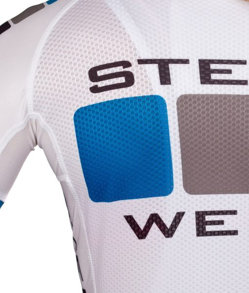 Custom Women's Cycling Clothing - Pro Jersey Detail by Steen Wear
