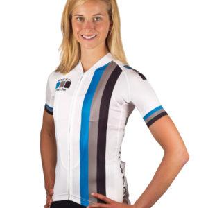 Custom Women's Cycling Clothing - Pro Jersey Detail by Steen Wear
