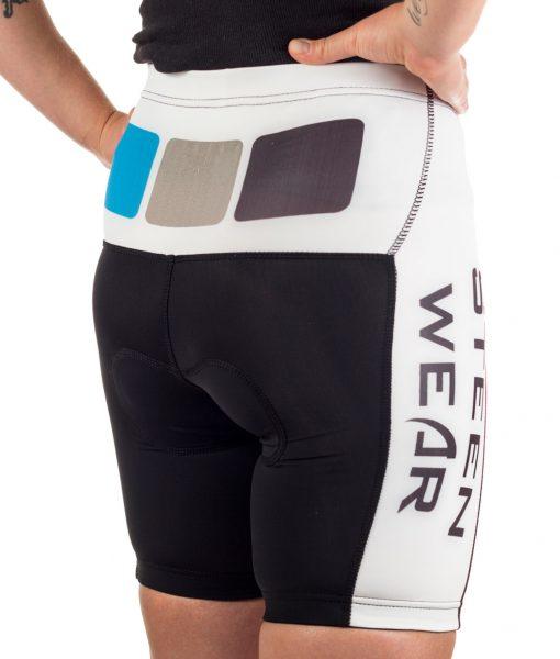 Custom Women's Cycling Clothing - Women's Cycling Shorts by Steen Wear
