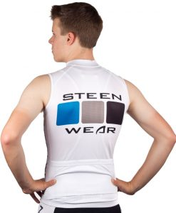 Custom Cycling Clothing - Sleeveless Jersey by Steen Wear