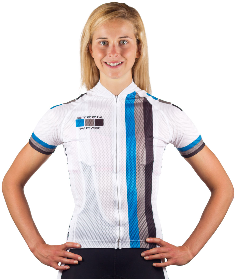 Custom Women's Cycling Clothing - UV Sun Protection Summer Jersey by Steen Wear