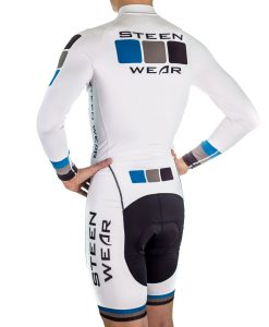 Custom Men's Cycling Clothing - Long Sleeve Skinsuit by Steen Wear