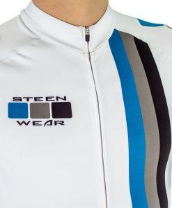 Custom Men's Cycling Clothing - Short Sleeve Skinsuit by Steen Wear