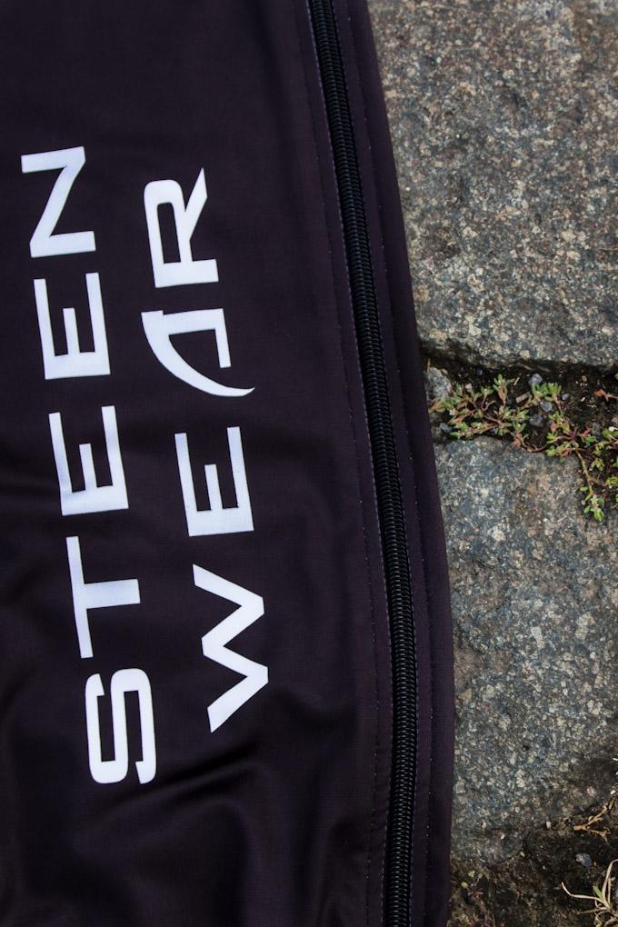 Steen Wear Full Zip Cyclocross CX Cross Warm Up Tights