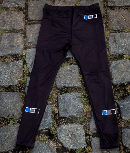 Steen Wear Full Zip Cyclocross CX Cross Warm Up Tights