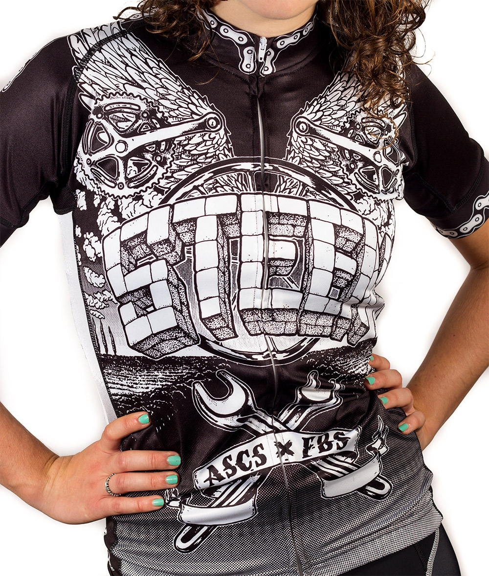 ASCS Jersey By Steen Wear - Graffiti artwork by Belgian street artist Sebastian Daley