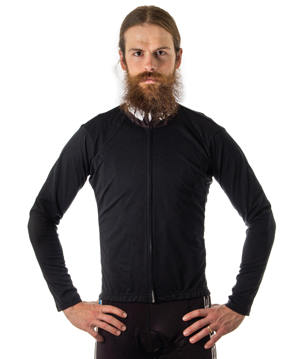 Long Sleeve RG Custom Rain Jacket, Front